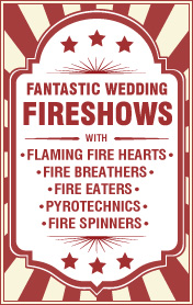 Wedding Fire Shows